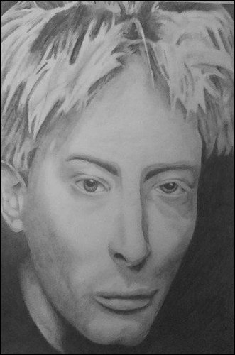 Thom Yorke by paranoid-android